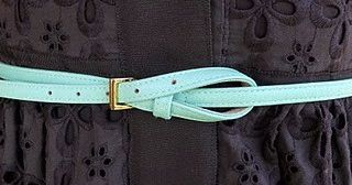 GENIUS! - Capitol Hill Style - Capitol Hill Style - All About Belts, Part III: A Few Ways to Tie Belts