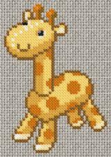 Toy giraffe cross stitch