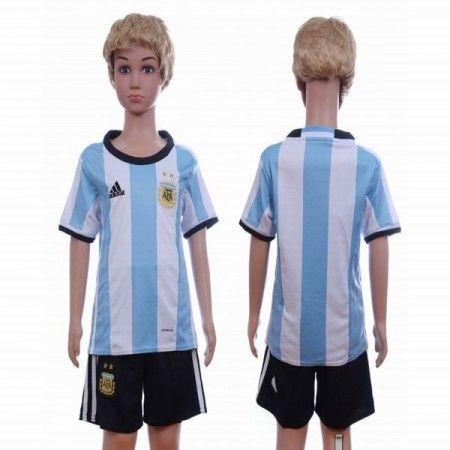 argentina otamendi white skyblue kids soccer jersey home