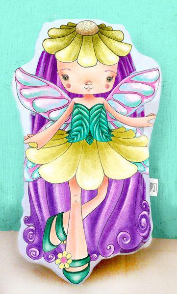 Muñeca Hada madrina - Fairy doll de JessicaIlustradora en Etsy