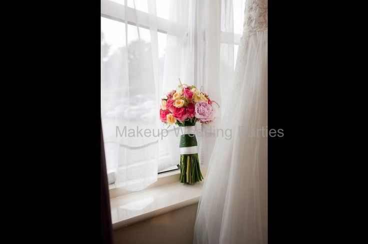 Roses and peonies bridal bouquet