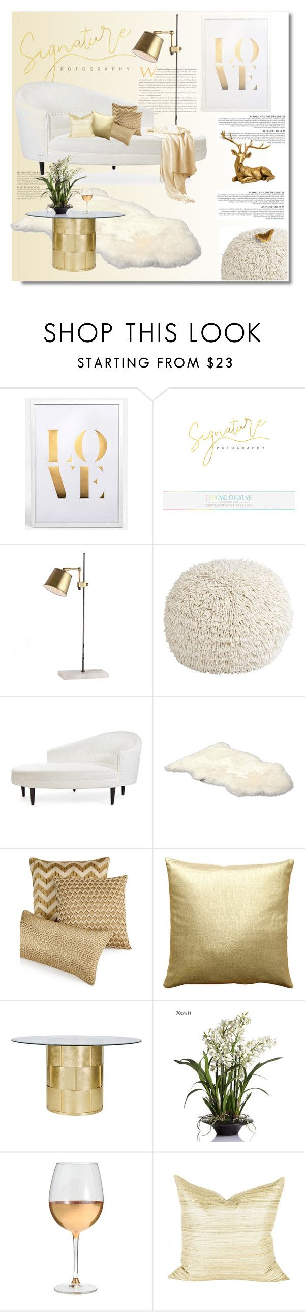 Home decor collage from january 2017 featuring currey company -  Golden White By Limass On Polyvore Featuring Interior Interiors Interior Design