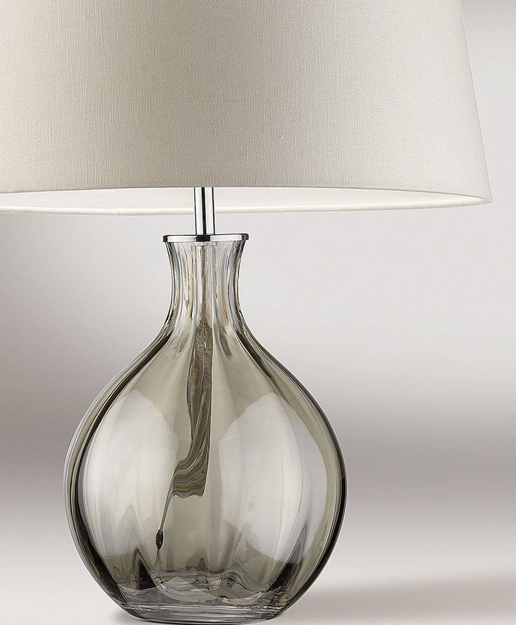 Paris | Hand blown coloured glass table lamp | Olive & the Fox