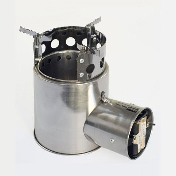 Portable Wood Camp Stove Turbo - Solid-Fuel Stove, Camp Stove, Wood Stove