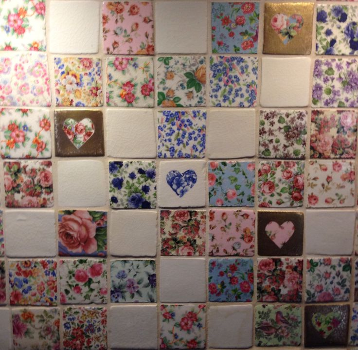 A section of the panel of Welbeck Tiles behind my cooker. A patchwork quilt of tiles! www.welbeck.com