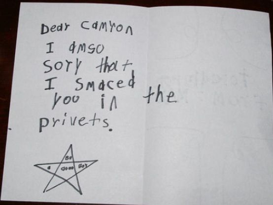 These funny children's letter  are killing me hahahahaha