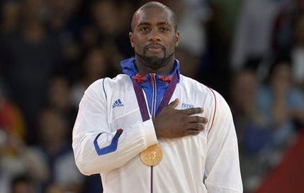 Teddy Riner est devenu champion olympique à Londres