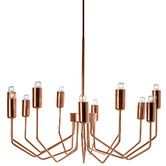 "11 Light Chandelier // SALE $214.99 // 10.25"" H x 19.7"" W x 19.7"" D"