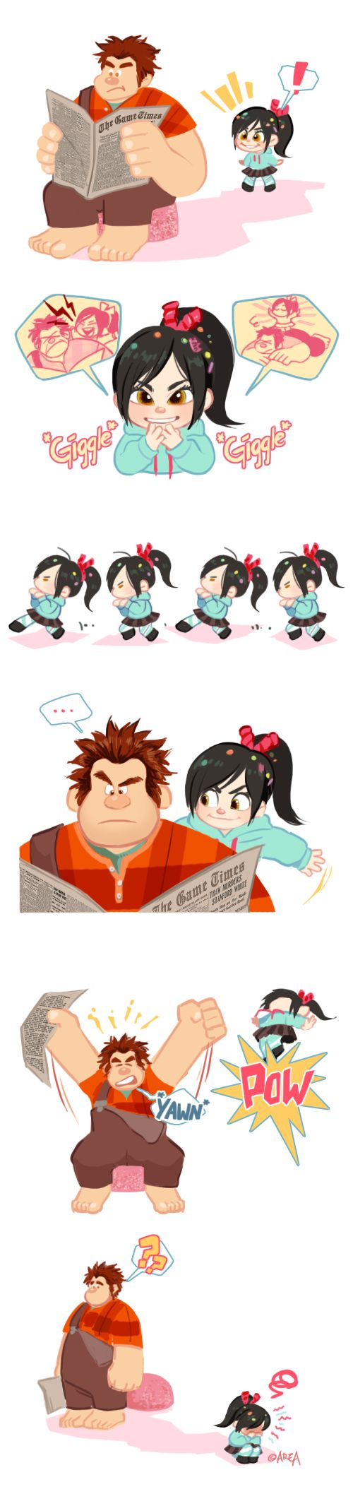 Wreck-It Ralph : FAIL! by area32.deviantart.com on @deviantART