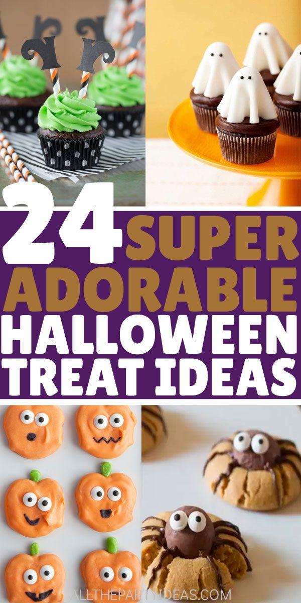 Adorable Halloween Treats.Best Cute Halloween Treats Ideas For Kids Adults Perfect Snacks Sweets Desserts To Serve For Sc Cute Halloween Treats Halloween Treats Healthy Party Snacks