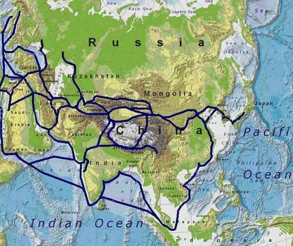 What was the Silk Road's effect on the civilization?