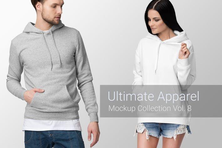 Download Ultimate Apparel Mockup Vol 8 By Genetic96 On Envato Elements Clothing Mockup Hoodie Mockup Hoodie Template