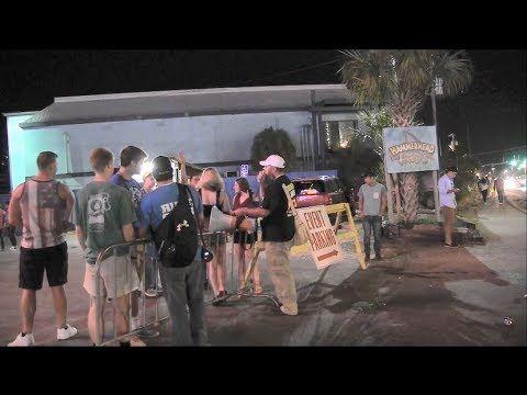 Preacher's Car Gets Towed! | Street Preaching - PCB Spring Break 2017 - Kerrigan Skelly - YouTube