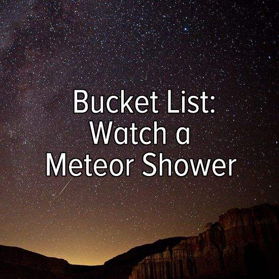 Watch a meteor shower! I'm about to tonight!! It's like 2am and I have to stay up till like 3 for this thing to happen! Soooo Excited to see it and with Amazing company to top it off :)