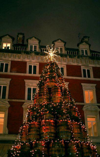 Covent Garden Xmas lights, London