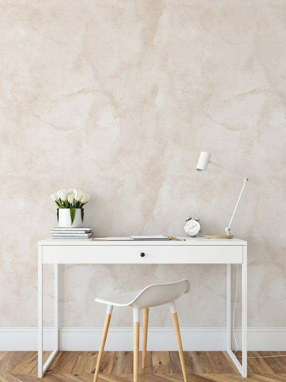 Minimal Paint Textured Wallpaper Linen Color Peel And Stick Etsy Textured Wallpaper Brown Wallpaper Peel And Stick Wallpaper
