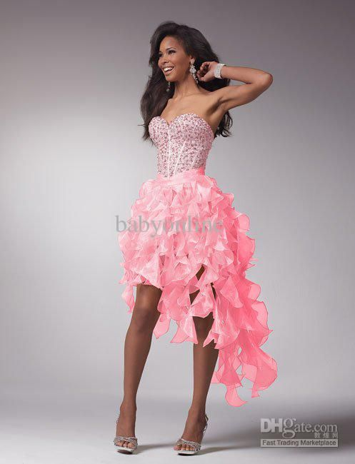 high low formal dresses | Cocktail Dresses - Buy 2013 High Low Prom Dresses Party Dress ...
