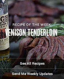 Venison Tenderloin | Traeger Wood Fired Grills