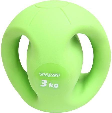 """Гиря для фитнеса """"Torneo"""", цвет: зеленый, 3 кг  — 799 руб.  —  Гиря для фитнеса """"Torneo"""" - это уникальный снаряд для проработки различных групп мышц. Выполнена из минерального наполнителя и пластика. Занятия с гирями благоприятно сказываются на опорно-двигательной и сердечнососудистой системе, укрепляют запястья, улучшают выносливость и гибкость."""