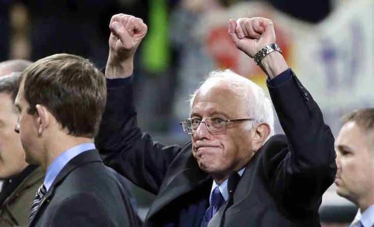 """Bernie Sanders Crushes Hillary Clinton in Washington Caucus. Bernie Sanders just scored a major victory in Washington—one of the largest remaining states—  with around 75% of the vote, According to The Washington Post, Sanders will """"pick up at least 50 net delegates—a 6th of the margin between the two candidates."""" Sanders also defeated Clinton in Alaska earlier today, which—while nice for him—really only translates to a handful of delegates."""