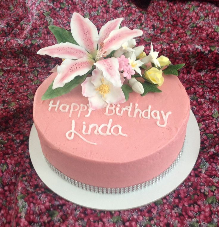 Lynda Birthday Cake
