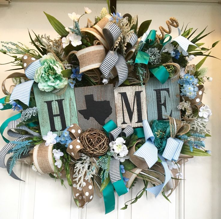 A personal favorite from my Etsy shop https://www.etsy.com/listing/275514822/spring-wreath-summer-wreath-rustic
