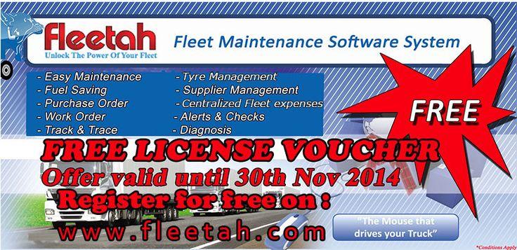 Register for free in Fleetah!!!