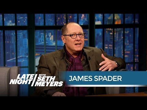 Late Night with Seth Meyers: James Spader Talks Starring in Avengers: Age of Ultron