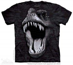 Big Face Glow Rex - koszulka dziecięca The Mountain