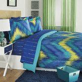 Found it at Wayfair - Chevron Tie Dye 3 Piece Comforter Set
