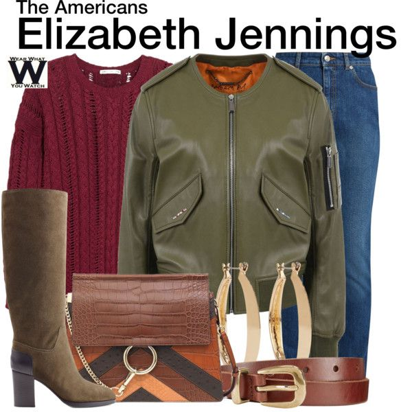 Inspired by Keri Russell as Elizabeth Jennings on The Americans.