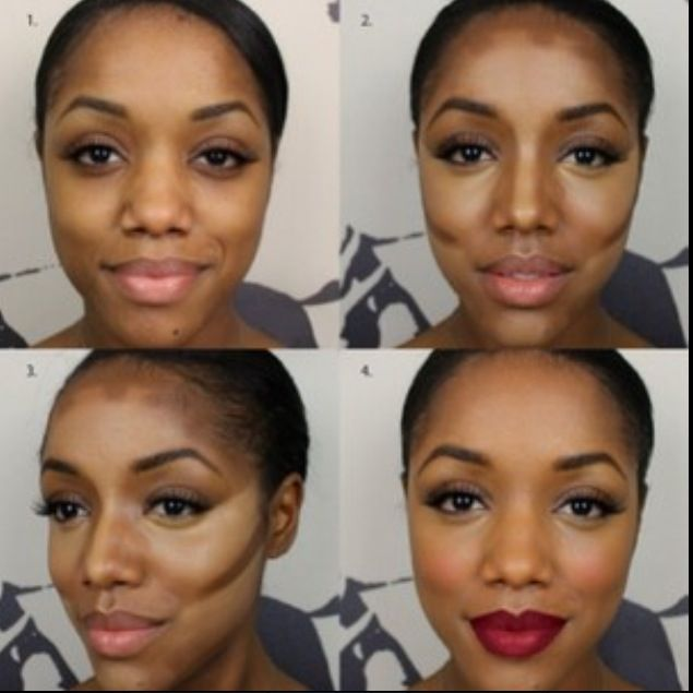 Contouring for women of color