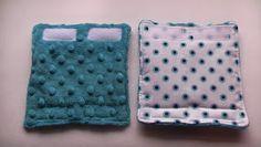 Sew Fantastic: REVERSIBLE Car Seat Strap Covers