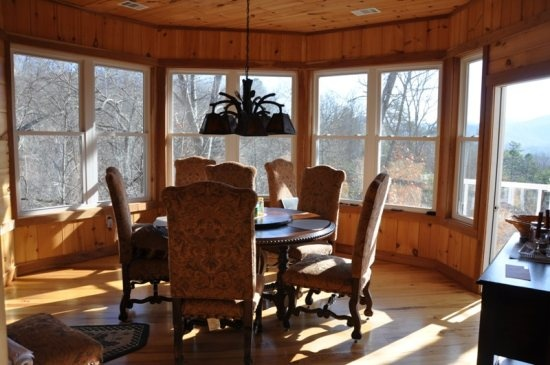 Such Elegant Furniture With A Priceless Mountain View Gorgeous Cabin Photos Pinterest
