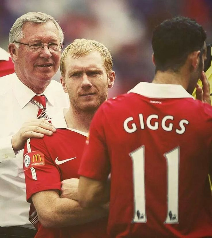 Sir Alex, Paul Scholes and Ryan Giggs, we miss you all