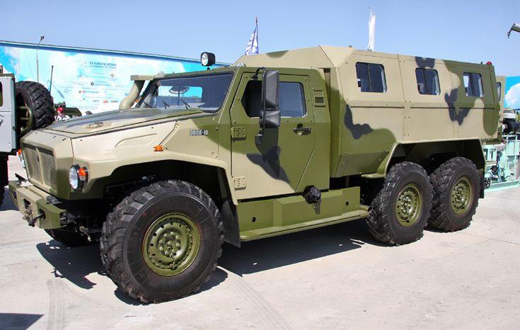 GAZ 2330 Tigr Volk VPK39273