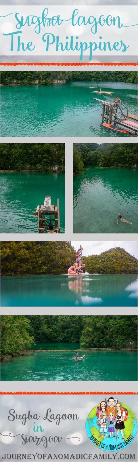 How to visit Sugba Lagoon by yourself. Sugba Lagoon is just off Siargao Island in The Philippines.