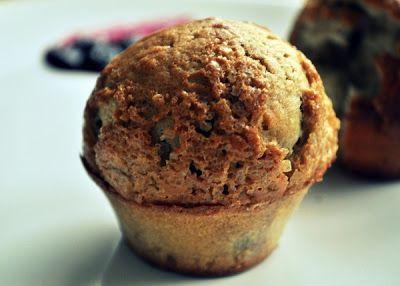 Muffinki z borówką amerykańską.