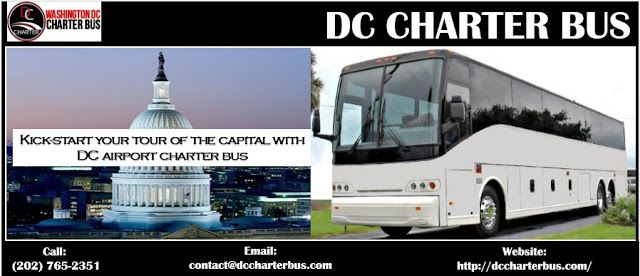 DC Charter Bus Service: Kick-start your tour of the capital with airport c...