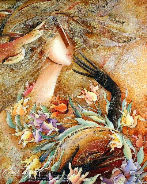Gorgeous Paintings By Galina Poloz