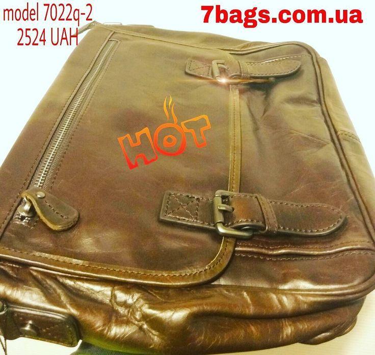 Бомбезная сумка через плечо из шикарной мягкой телячьей кожи  2524грн в наличии  7bags.com.ua