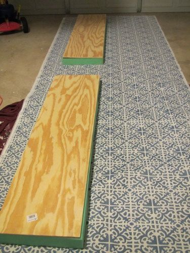 Maybe I'll attempt a version of this DIY window seat cushion for the bench in my closet.
