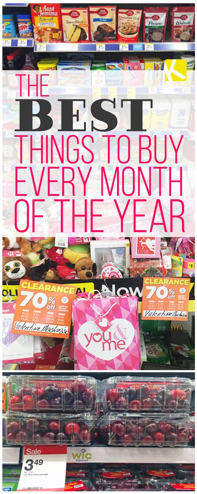 The Best Time to Buy Everything by Month of the Year