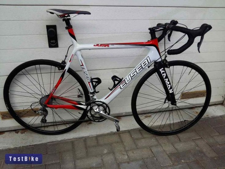 Karbon országúti kerékpár versenyvázzal, 56-os