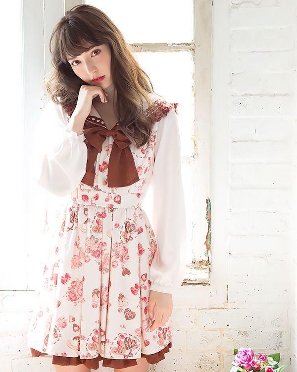 Strawberry Bonbon Handkerchief LIZ LISA japan fashion kawaii lolita