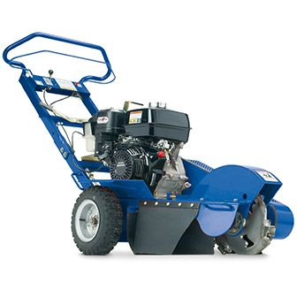 Stump Grinder rental from home depot. $90 per day. Weighs 270 lbs.