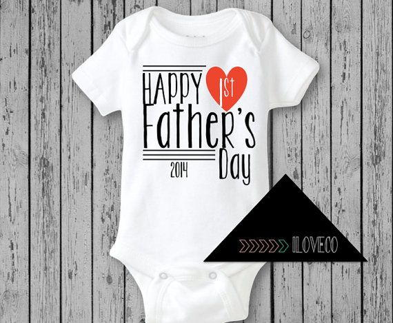 first fathers day onesie australia