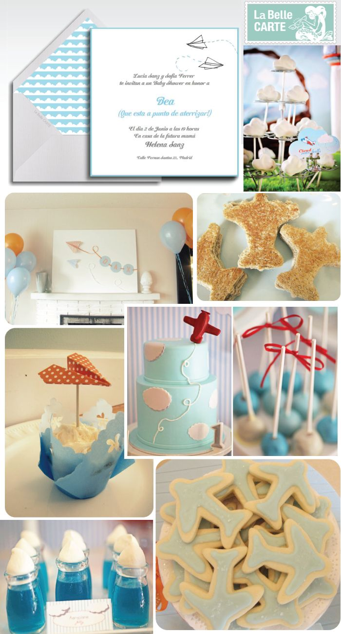 485 besten airplane birthday party bilder auf pinterest - Baby shower party ideen ...