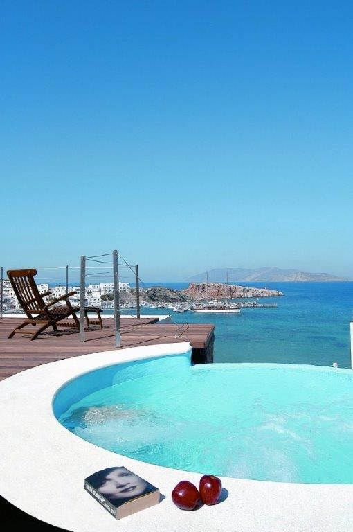 Rejoice and relax in Vrahos Boutique Hotel - #Folegandros.
