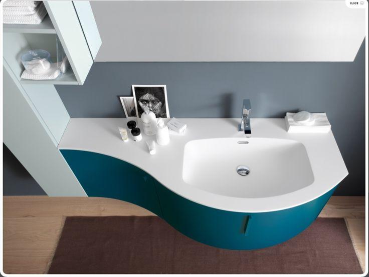 Mobile bagno turchese